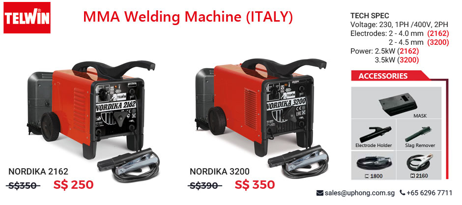 NORDIKA MMA Welding Machine Promotion