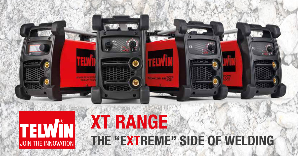 Introducing Telwin XT Range Welding Machines