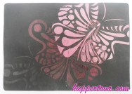 #019 Emerging Butterfly on Goat leather