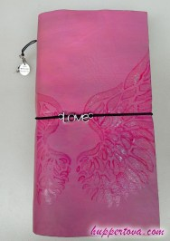 #046 Pink Lady, goat leather