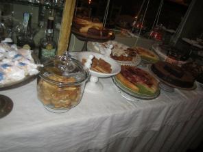 Desserts at La Pasteleria