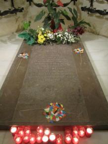 Gaudi's Resting Site in La Sagrada Familia
