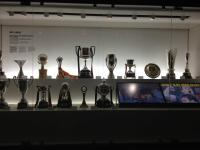 2011-2012 Trophies at Barcelona FC's Estadio Camp Nou