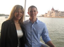 My Mom and Me In Front of the Budapest Parliament