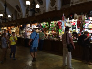 Indoor Market In Kraków Square