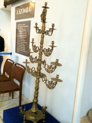 Menorah In Jewish Museum