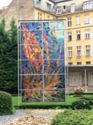 Stained Glass Holocaust Artwork