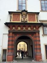Hofsburg Palace Drawbridge