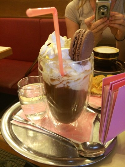 Iced Coffee With Ice Cream and Whipped Cream