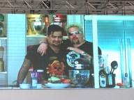 Aaron Sanchez and Guy Fieri