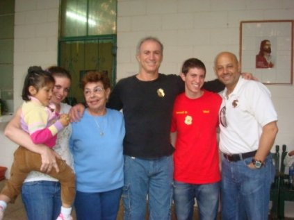 Us With Mami Leo In 2009