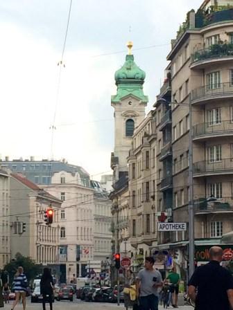 Walking Through Vienna