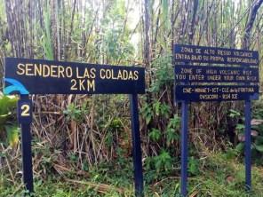 Las Coladas Trail