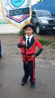 Some of the Children From the Sagrado Corazon Marching Band