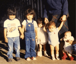 The First Few Children at Misioneros Del Camino