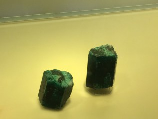 Emeralds in Museo Del Oro