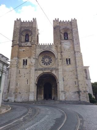 Sé de Lisboa In Lisbon, Portugal