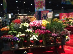 Floral Display at PMA Fresh Summit