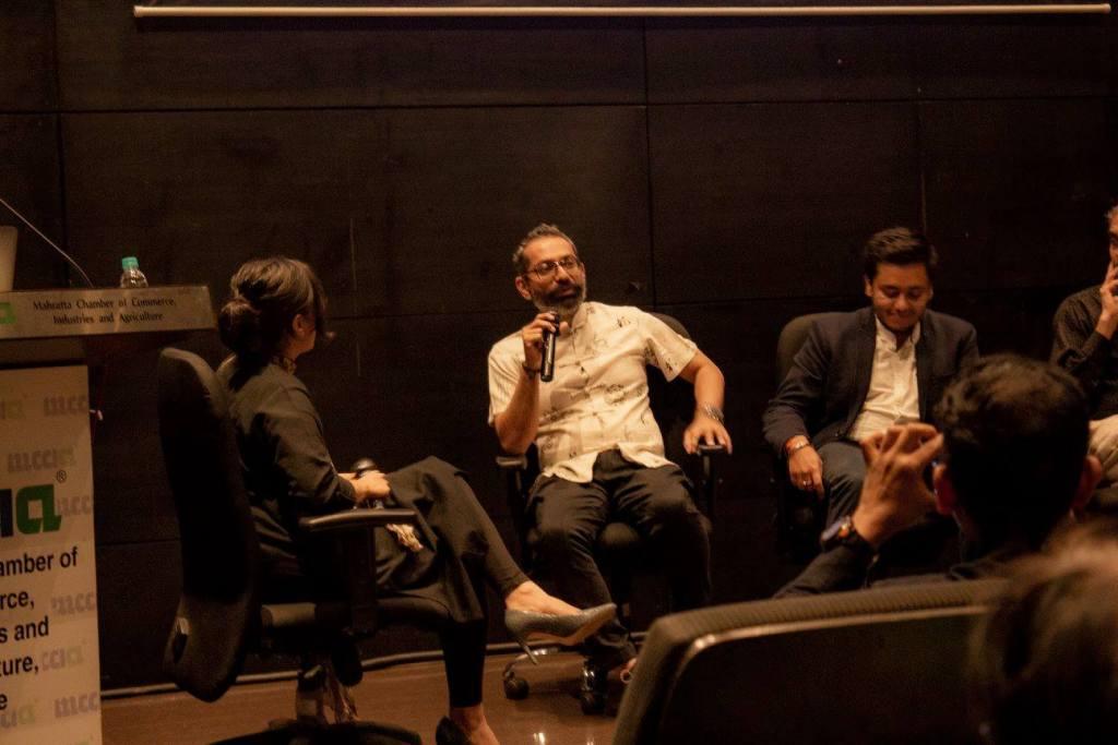 Hureo team member moderates a panel at ADI Pune
