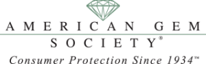 List of Gemstones: American Gem Society Logo