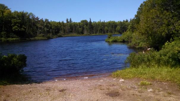 Brocky Lake on Dishno Rd