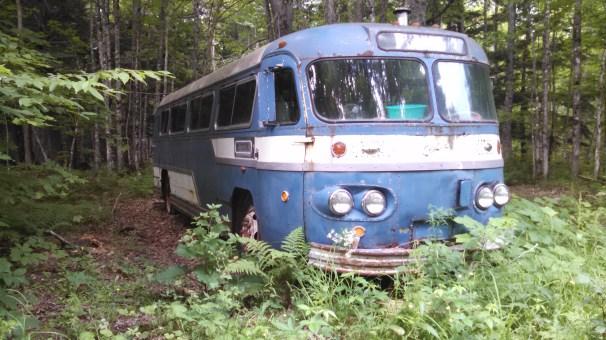 Old Bus on Northwestern Rd