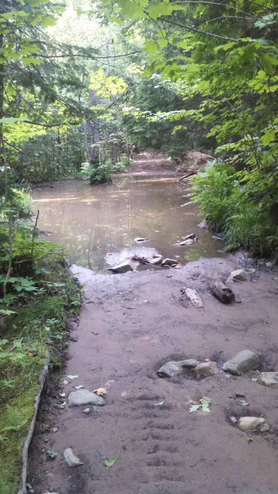 Mid-ride Swimming Hole