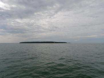 Big Charity Island is part of the Michigan Islands National Wildlife Refuge