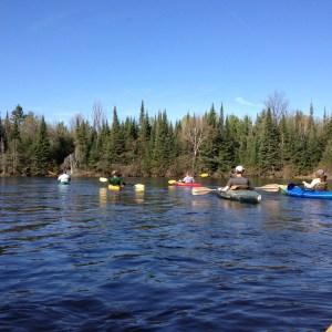 Staff Kayaking