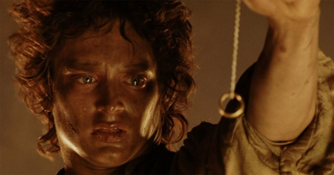 Frodo Lord of the Rings Elijah Wood The Ring Mordor