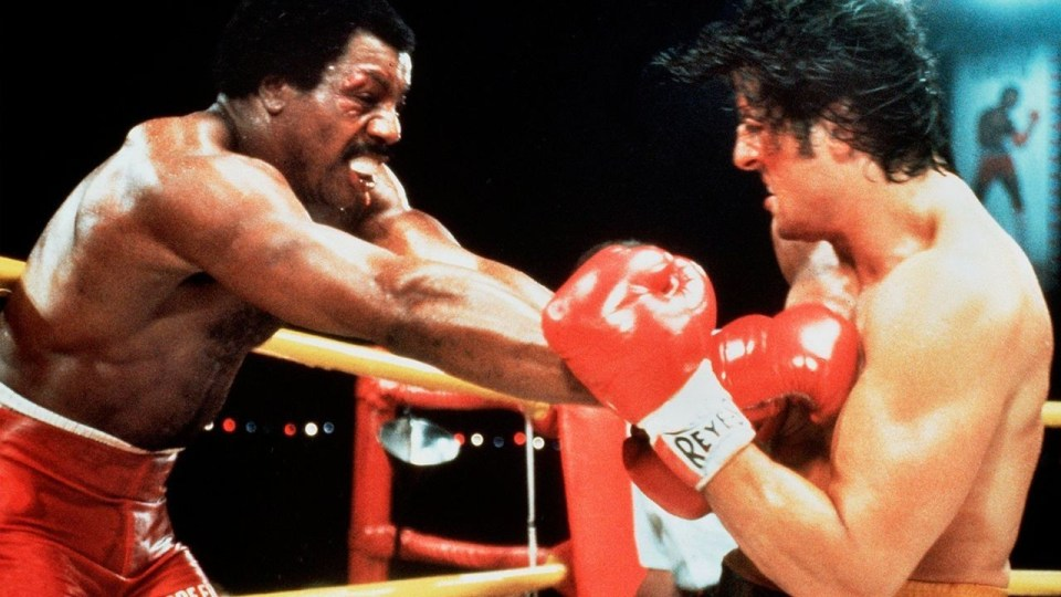 """Apollo Creed versus The Italian Stallion. Sounds like a damn monster movie."""