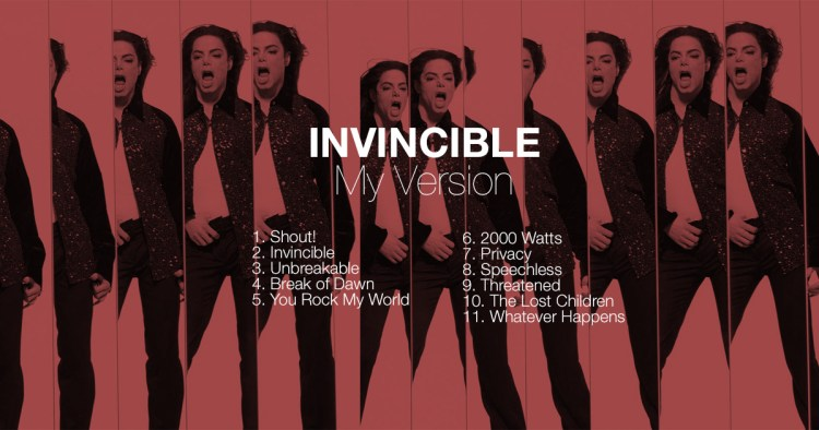 Invincible Album Remix Break of Dawn You Rock My World