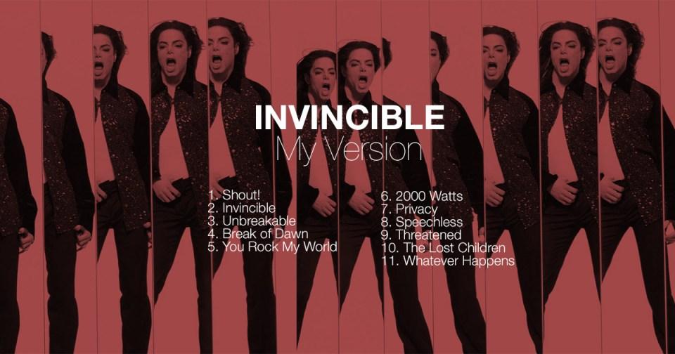 Invincible Album Remix Break of Dawn You Rock My World