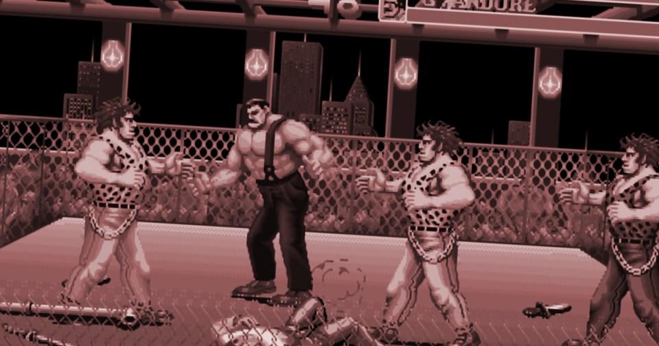 HurraaKerkko retropeli SNES Final Fight