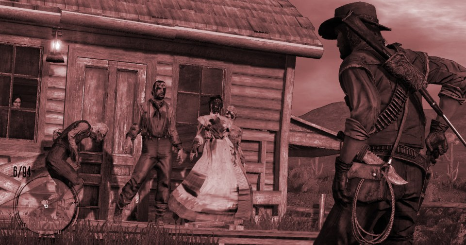 HurraaKerkko Digilluusio Red Dead Redemption peli mod