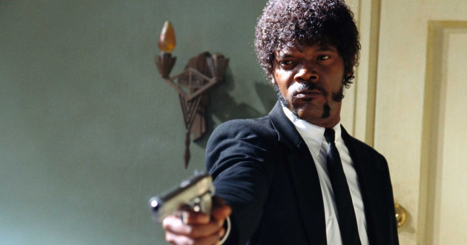 Pulp Fiction Samuel Jackson Ezekiel 25:17