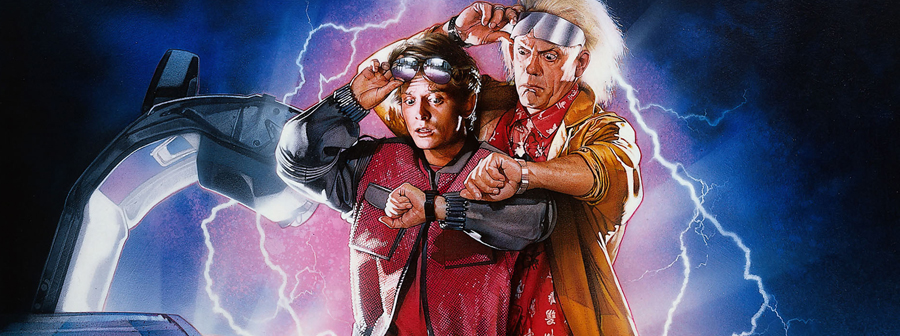 Back to the Future Paluu Tulevaisuuteen 2 Emmett Brown