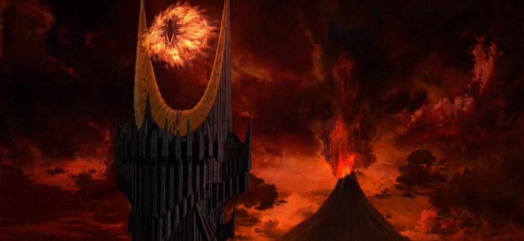 Barad-dûrin rakentamisen kerrotaan kestäneen 600 vuotta.