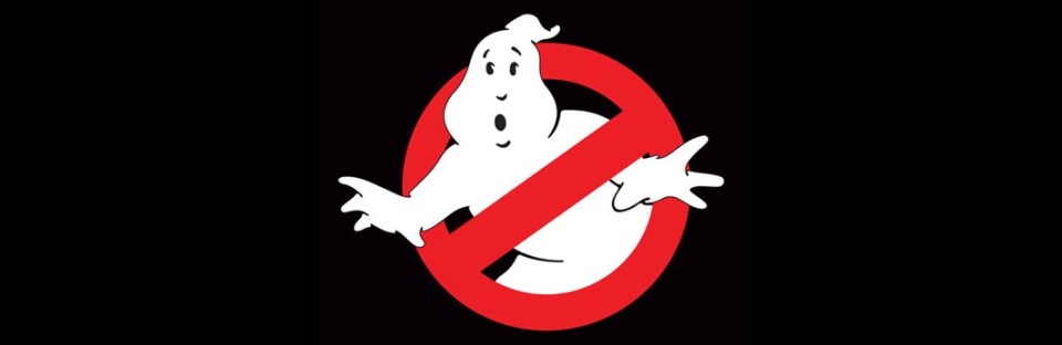 Ghostbusters logo Ivan Reitman movie