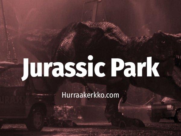 Cult Sure: Turvavyön merkitys Jurassic Parkissa
