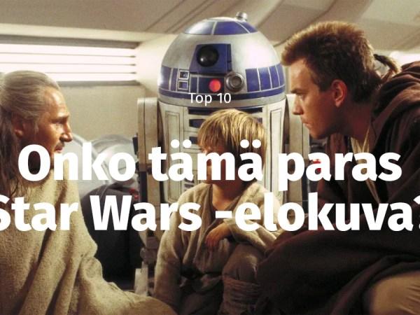 10 syytä, miksi Pimeä Uhka on paras Tähtien Sota -elokuva
