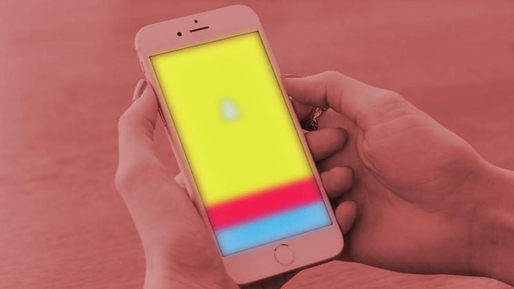 Snapchat-käyttö mainonta Snapchatissä