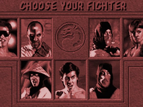 Mortal Kombat character select