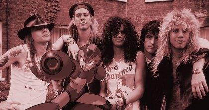 Guns Roses Megaman