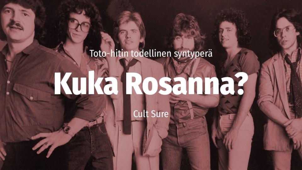 Cult Sure: Toton hitti ei kerrokaan Rosanna Arquettesta