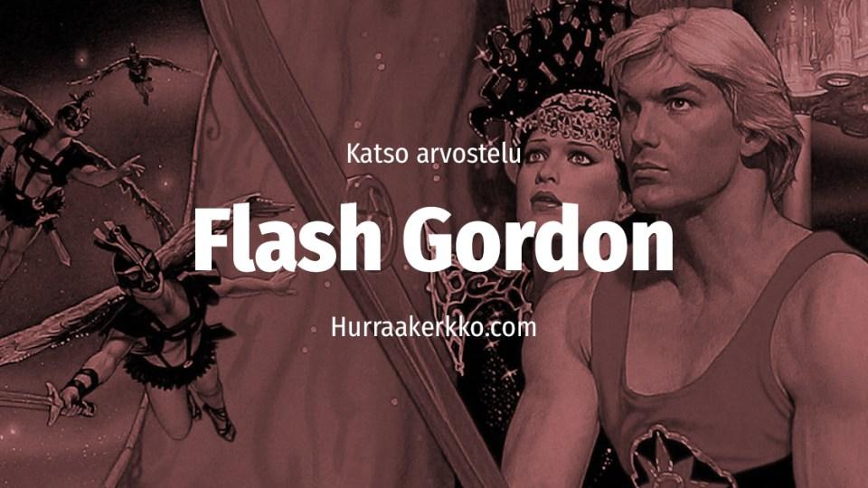 Arvostelussa Flash Gordon (1980) – katso video