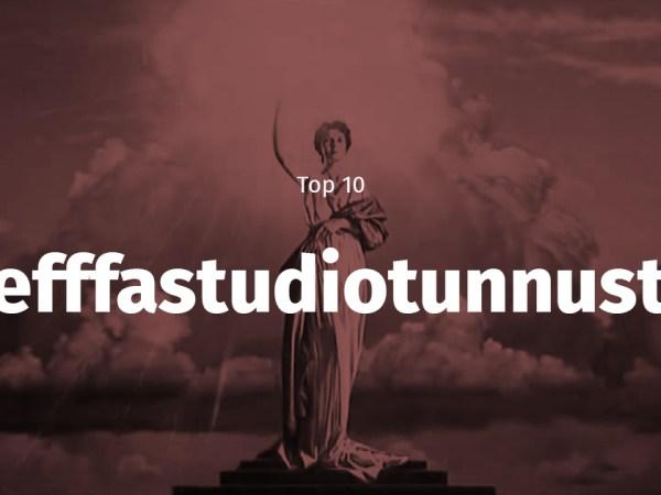 Top 10 elokuvastudioiden tunnukset