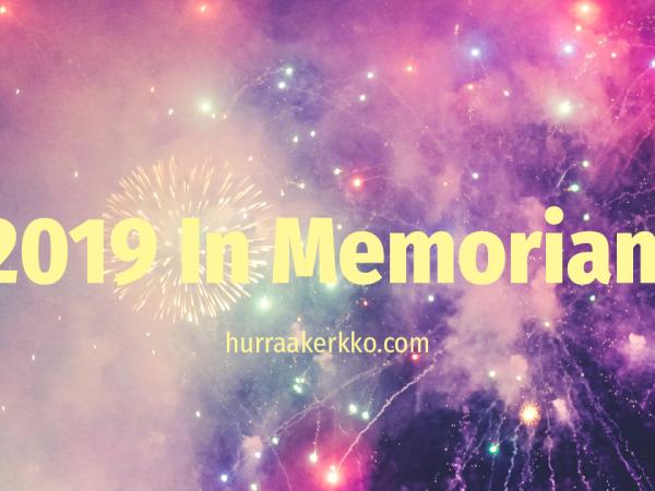 Vuosi 2019 – In Memoriam
