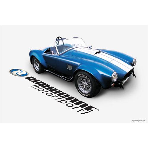 Hurricane Motorsports Showroom Poster