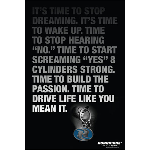 It's Time to Stop Dreaming Poster